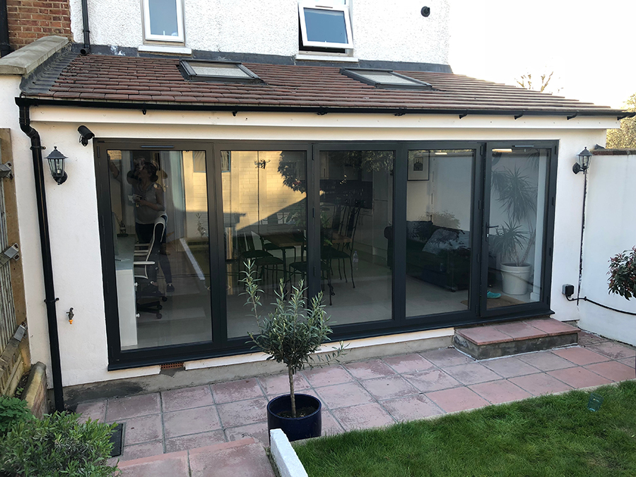 pvc bi fold door respray after