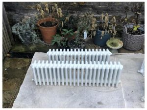 Iron Radiator Resprayed White
